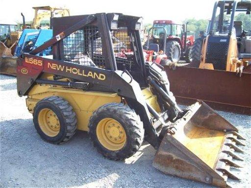 56: New Holland LX565 Skid Steer