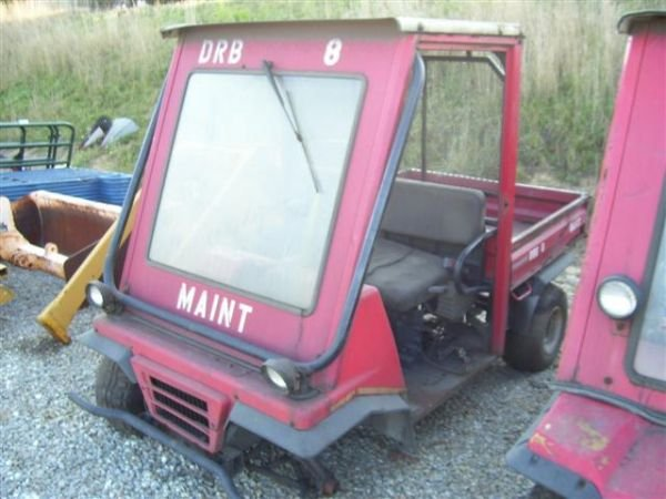 9: KAWASAKI 2510 MULE UTILITY CART AS-IS FOR PARTS