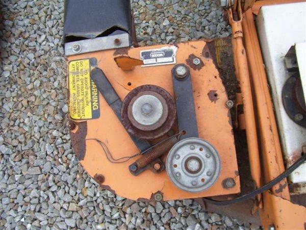 207: WOODS MOW N MACHINE 3150 ZERO TURN MOWER W/BAGGER  - 2