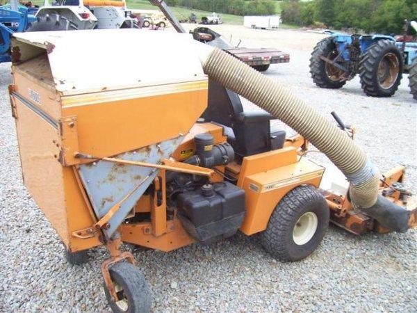 207: WOODS MOW N MACHINE 3150 ZERO TURN MOWER W/BAGGER  - 6