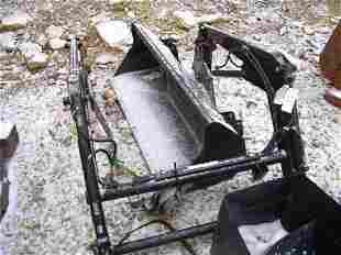 UNUSED 220 GREAT BEND LOADER FOR COMPACT TRACTOR