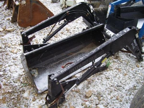 13:UNUSED 220 GREAT BEND LOADER FOR COMPACT TRACTOR     - 2