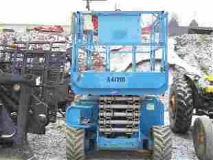 2002 GENIE GS 3268 RT 4WD SCISSOR MAN LIFT