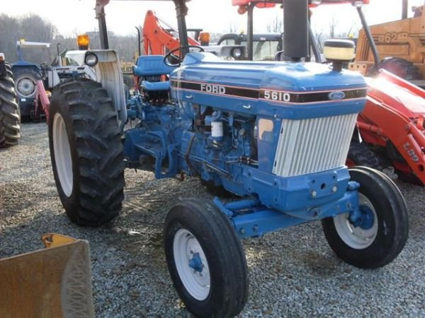 108: FORD 5610 SERIES 2 TRACTOR W/ CANOPY./LOW HOURS.  - 2