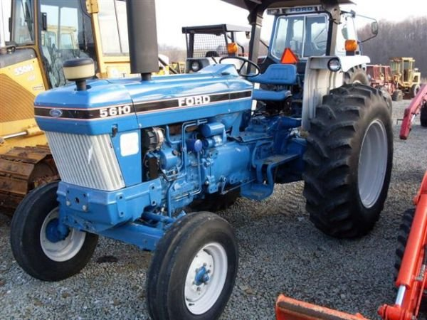 108: FORD 5610 SERIES 2 TRACTOR W/ CANOPY./LOW HOURS.  - 3