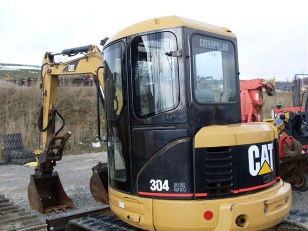 120: 03' CAT 304CR MINI EXCAVATOR W/CAB/HEAT/AIR/THUMB - 9