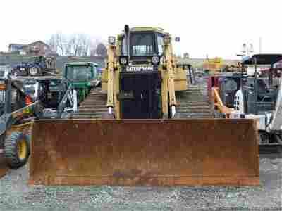 170: CAT D6H II LGP CRAWLER DOZER W/CAB/HEAT/AIR