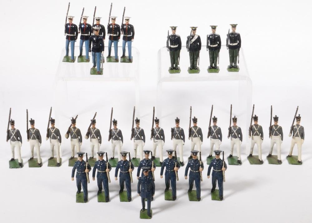(33) BRITAINS TOY LEAD SOLDIERS