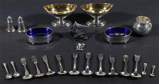 (23) ASSORTED SILVER OBJECTS