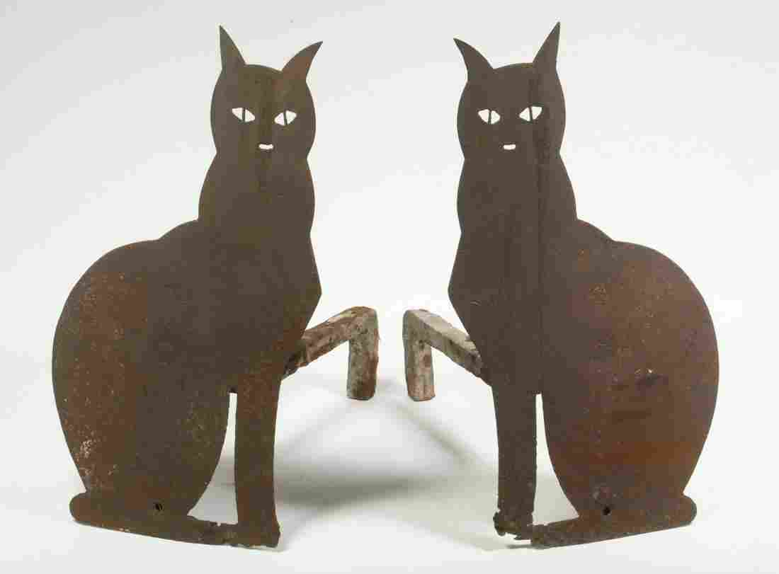PR CAT FORM SHEET METAL ANDIRONS