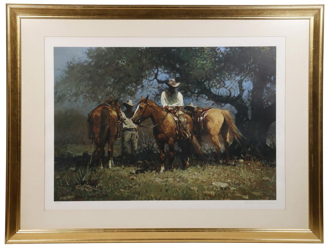 MELVIN CHARLES WARREN (TX/CA, 1920-1995)