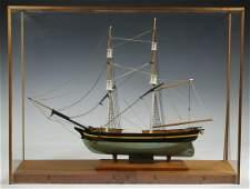 """CASED SHIP MODEL OF """"TOPAZ"""""""