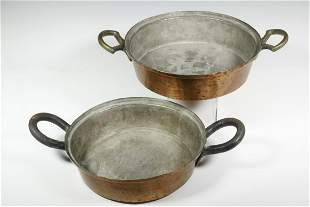 (2) MIDDLE EASTERN COOKING PANS
