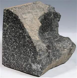20TH C. EGYPTIAN PORPHYRY BLOCK