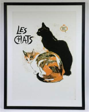 FRAMED PRINT OF CATS