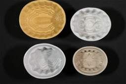 (4) VICTORIAN FOOD MOLDS