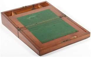 MAHOGANY WRITING BOX