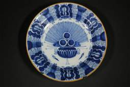18TH C. DELFT CHARGER
