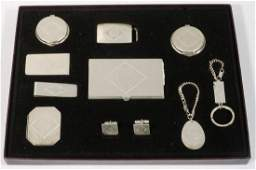 (10 PC) STERLING GENT'S ACCESSORIES