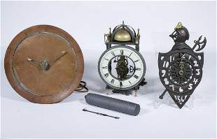 (3) VINTAGE CLOCKS