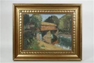 LESLIE (CHARLES LESLIE) THRASHER (NY, 1889-1936)