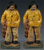 PR HUBLEY 'OLD SALT' BOOKENDS