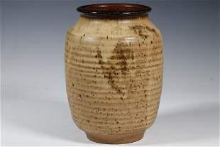 JOEL EDWARDS (CA, 20TH C.) ART POTTERY JAR