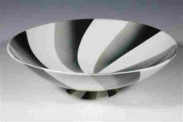 DAGOBERT PECHE DESIGNED PORCELAIN CENTERPIECE BOWL