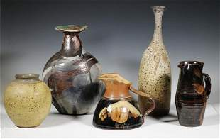 (5 PCS) AMERICAN ART POTTERY