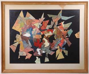 ABSTRACT PAINTING BY ARTHUR FOOTE