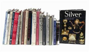 (22) BOOKS ON ANTIQUE SILVER