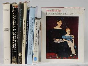 (8) BOOKS ON ART AND ARTISTS