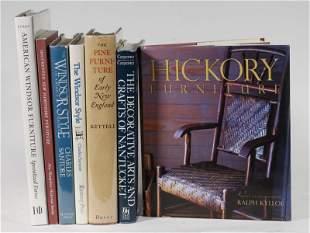 (7) BOOKS OF AMERICAN REGIONAL FURNITURE AND DECOR