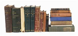 (15) BOOKS, MISC. TITLES, ARCHITECTURE, GARDENING,