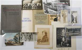 SMALL COLLECTION OF VINTAGE PHOTOGRAPHS AND BOOKLETS
