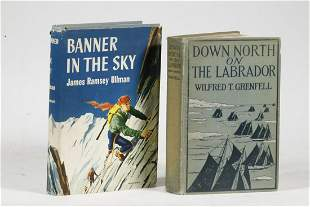 (2) FIRST EDITION BOOKS ON ADVENTURERS