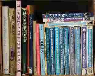(22) BOOKS ON DOLLS