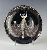 Royal Doulton Erte Limited Edition Porcelain Plate