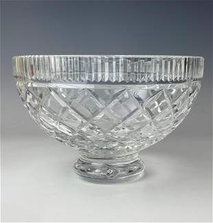 Waterford Cut Crystal Killeen Round Serving Bowl