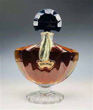 JUMBO Guerlain Shalimar Dummy Perfume Scent Bottle