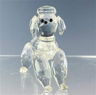 Swarovski Austrian Crystal Poodle # 7619 Figurine