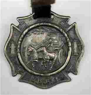 Oceanic Fire Engine 40th Anniversary March Badge