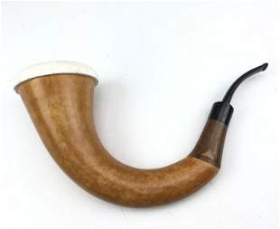 Calabash Meerschaum Sherlock Homes Block Bowl Pipe