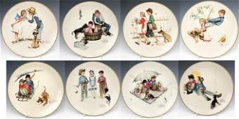 Norman Rockwell Gorham Decorative Plate Collection