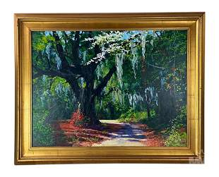 William Jameson b.1944 American Landscape Painting