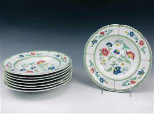 Villeroy & Boch Indian Summer Soup Bowl Plates Set