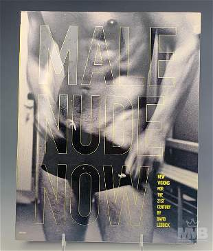 Male Nude Now 2001 Erotica Photography Book SIGNED