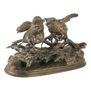 Jules Moigniez (1835-1894) French Bronze Sculpture