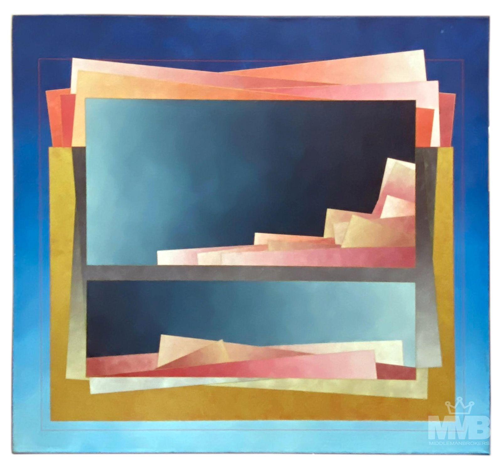 Richard Carter (American, B.1946) Acrylic Painting