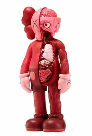 KAWS Companion Medicom Flayed Clown Toy Figure